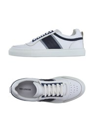 Yes London Footwear Low Tops And Trainers Men White