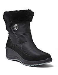 Blondo Teresa Faux Fur Lined Boots Black
