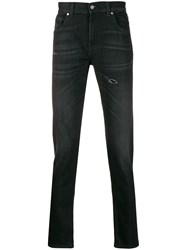 7 For All Mankind Tapered Jeans Black