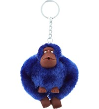 Kipling Fluffy Monkey Keyring 8Cm Ink