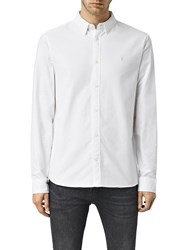 Allsaints Hungtingdon Slim Fit Shirt White