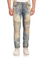 Robin's Jeans Washed Long Flap Biker Memphis