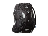 High Sierra Riptide 25L Hydration Pack Black Silver Backpack Bags