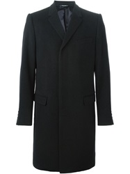 Dolce And Gabbana Classic Evening Coat Blue