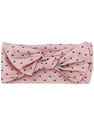Red Valentino Tulle Overlay Head Scarf Pink