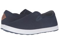 Freewaters Sky Slip On Knit Navy Men's Shoes