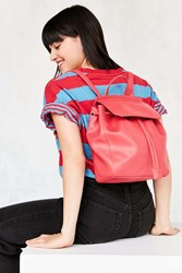 Matt And Nat Small Mumbai Backpack Red