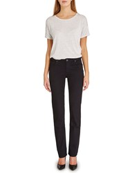 Lee Marion Straight Leg Jeans Black Rinse