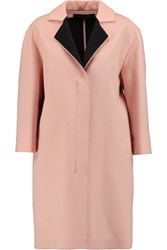 Roland Mouret Paddington Wool Coat Pink