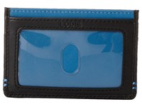 Lodis Accessories Mini Id Case Robin's Egg Credit Card Wallet Blue
