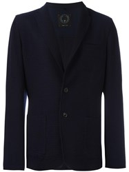 Tonello Textured Blazer Blue