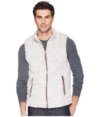 True Grit Frosty Tipped Pile Double Up Vest Heather Gray