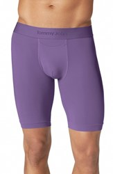 Men's Tommy John 'Air' Boxer Briefs Purple