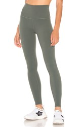 Beyond Yoga Caught In The Midi High Waisted Legging Green