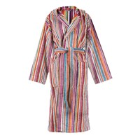 Missoni Home Jazz Hooded Bathrobe 159 Multi Orange