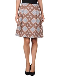 Jonathan Saunders Skirts Knee Length Skirts Women Pink