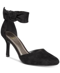 Impo Tarcel Ankle Strap D'orsay Pumps Women's Shoes Black
