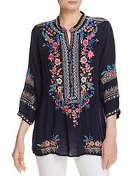 Johnny Was Embroidered Peasant Tunic Stargazing