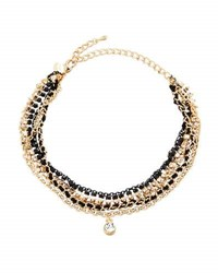 Emily And Ashley Crystal Rhinestone Drop Choker Necklace