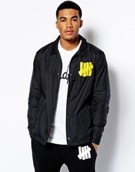 Undefeated Bad Sports Coach Jacket Black