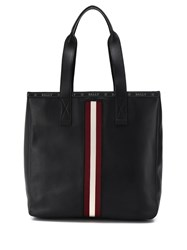 Bally Tote Bag With Stripe Detail 60