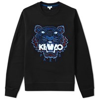 Kenzo Tiger Crew Sweat Black