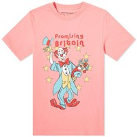 Martine Rose Clown Tee Pink