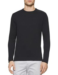 Calvin Klein Zip Accented Sweater Black