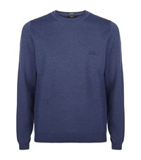 Boss Crew Neck Classic Merino Sweater Male