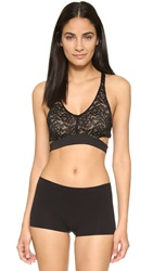 Top Secret City Lace Bra Black Lace
