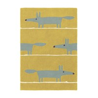 Scion Mr Fox Rug Mustard 120X180cm