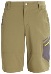 Marmot Limantour Sports Shorts Burnt Olive Slate Grey