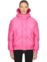 Ienki Ienki Oversized Dunlope Down Jacket Dark Pink