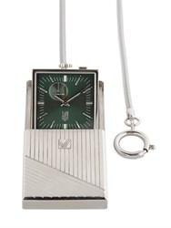 March La.B Travel Clock With Engraved Case