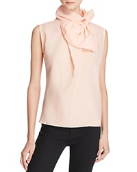 Gracia Big Bow Sleeveless Blouse Compare At 82 Peach