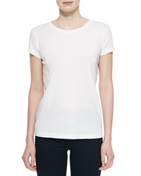 Alexa Chung For Ag The Boyfriend Cotton Blend Tee True White