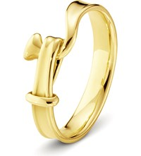 Georg Jensen Torun 18Ct Yellow Gold Ring
