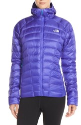 The North Face Women's 'Quince' Water Repellent Down Jacket Starry Purple
