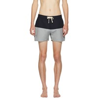 Saturdays Surf Nyc Blue Ennis Board Shorts