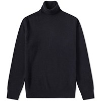 Barbour Leahill Roll Neck Knit Blue