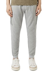 Topman Men's Textured Skinny Fit Jogger Sweatpants