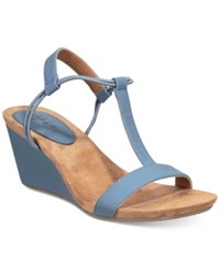 Styleandco. Style Co. Mulan Wedge Sandals Only At Macy's Women's Shoes Dutch Blue