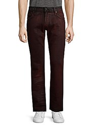 Robin's Jean Straight Cotton Pants Digger Red