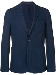 Paul Smith Ps Classic Single Breasted Blazer Blue