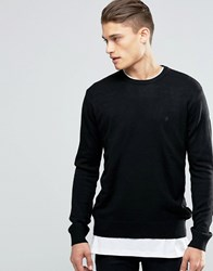 French Connection Crew Jumper Black