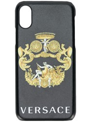 Versace Iphone X Cover Black