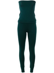 Humanoid Fitted Jumpsuit Green