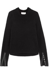 3.1 Phillip Lim Embellished Knitted Sweater Black