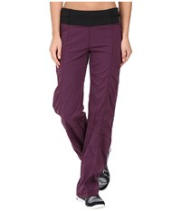 Lucy Get Going Pant Blackberry Women's Workout Burgundy