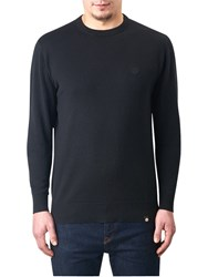 Pretty Green Mandeville Crew Neck Jumper Black